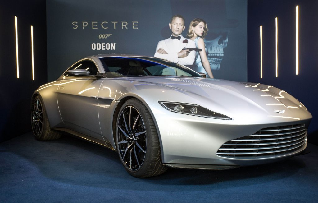 An Aston Martin DB10, one of just ten in the world, is being installed at ODEON Leicester Square, as the cinema chain – Europe's largest – continues its countdown to the arrival of new James Bond film SPECTRE on October 26th.
